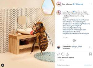 pszczola influencerka